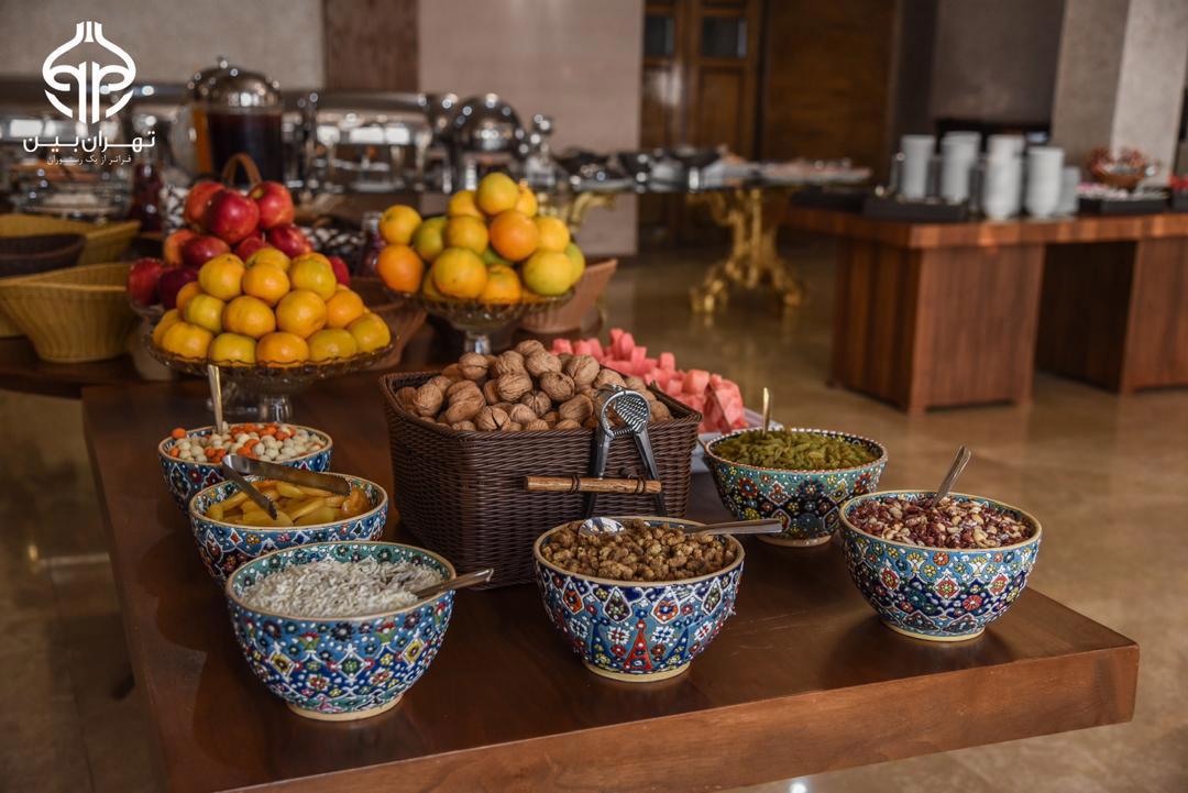 صبحانه رستوران تهران بین